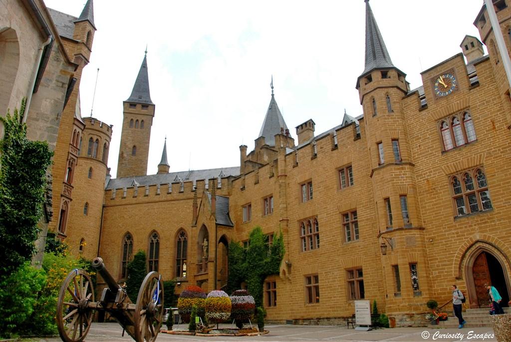 Cour intérieure du château Hohenzollern