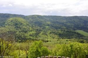 La Forêt Noire vue du château de Hohenzollern
