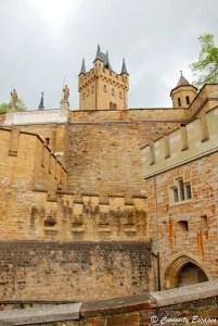 Remparts du château de Hohenzollern