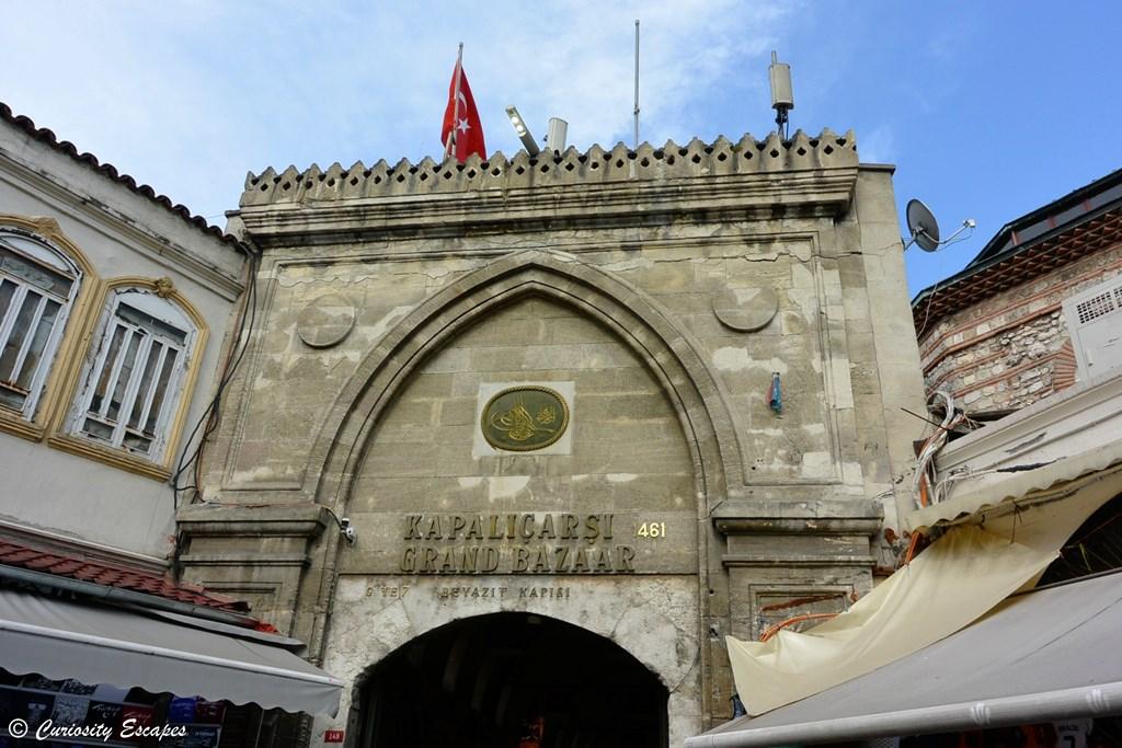Entrée du Grand Bazaar d'Istanbul