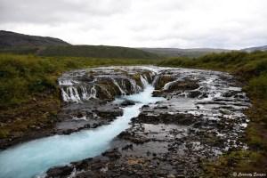 Cascade cachée de Brúarfoss, Islande