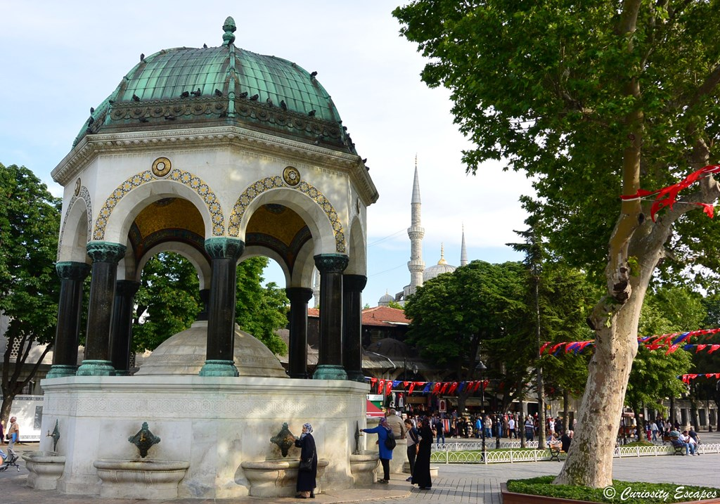 Fontaine allemande d'Istanbul