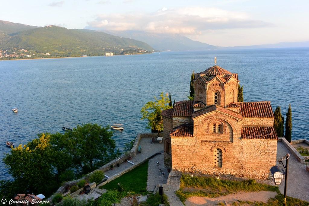 Sv Jovan Kaneo sur les bords du lac Ohrid, Macédoine