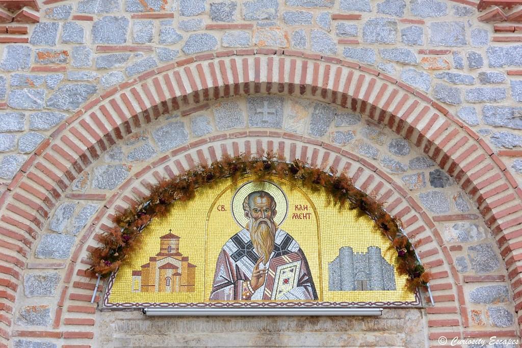 Dorures du monastère Sv Kliment, Ohrid