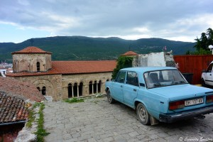 Cathédrale Sv Sophia d'Ohrid, Macédoine