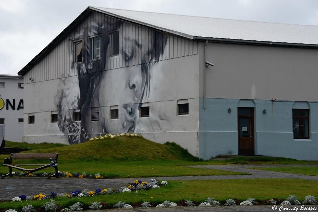 Street-art à Heimaey