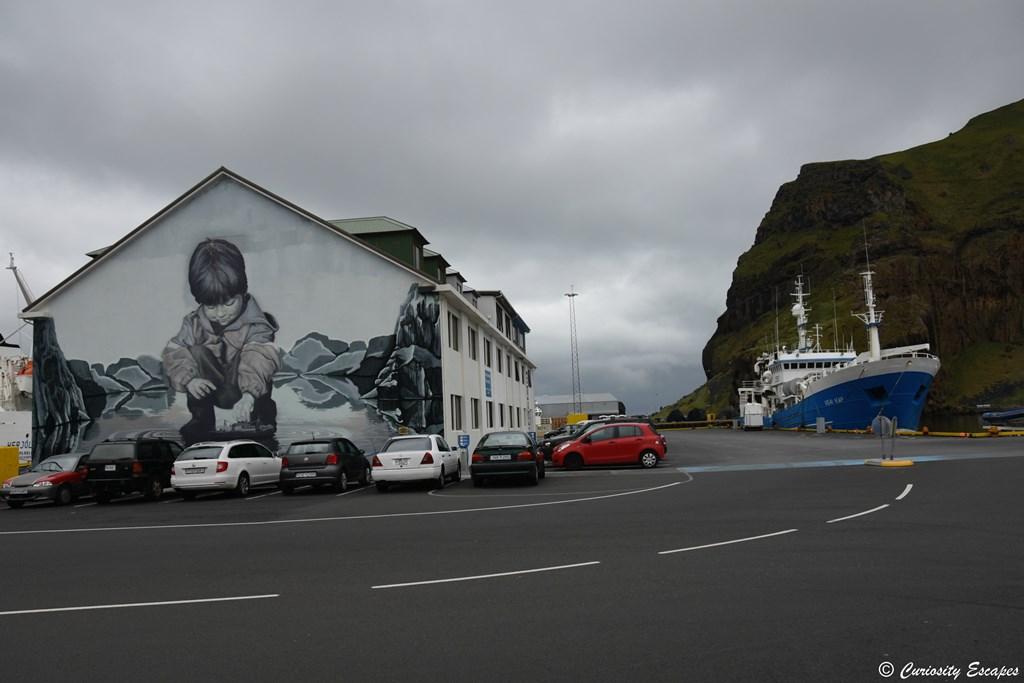 Street-art sur Heimaey