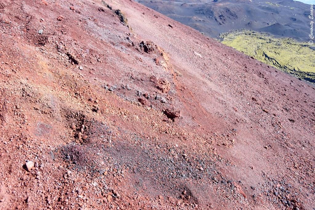 Couleurs du volcan Eldfell