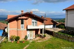 Maisons bourgeoises du village de Vevcani