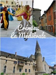 Crémieu, cité médiévale en Isère