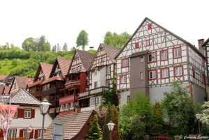 Maisons à colombages de Schiltach en Allemagne