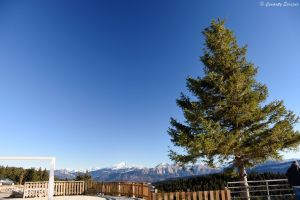 Chaîne des Alpes au mont Revard