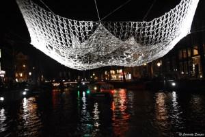 Attraction The Lace au festival des lumières d'Amsterdam