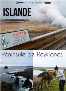 Pinterest péninsule de Reykjanes en Islande