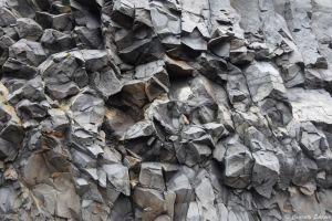 Roche volcanique islandaise