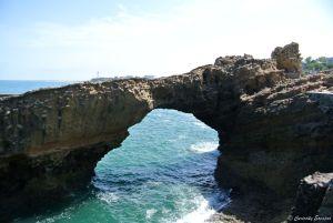 Arche au rocher de la Vierge de Biarritz