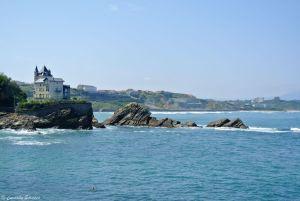 Biarritz et sa côté déchirée