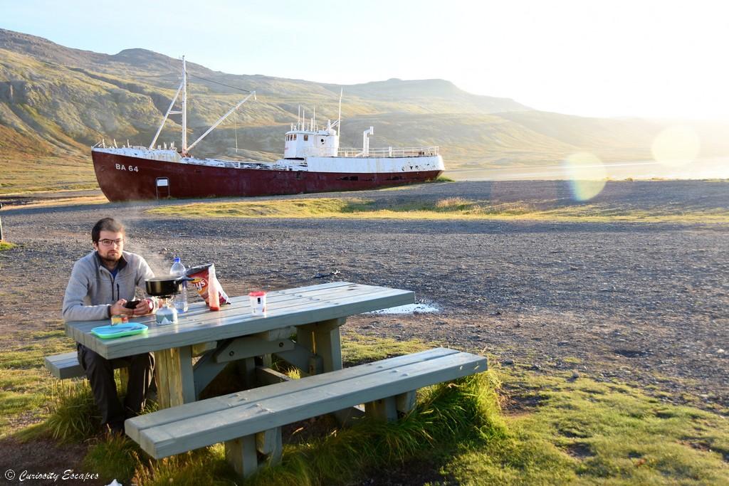 Epave du Gardar dans les Westfjords