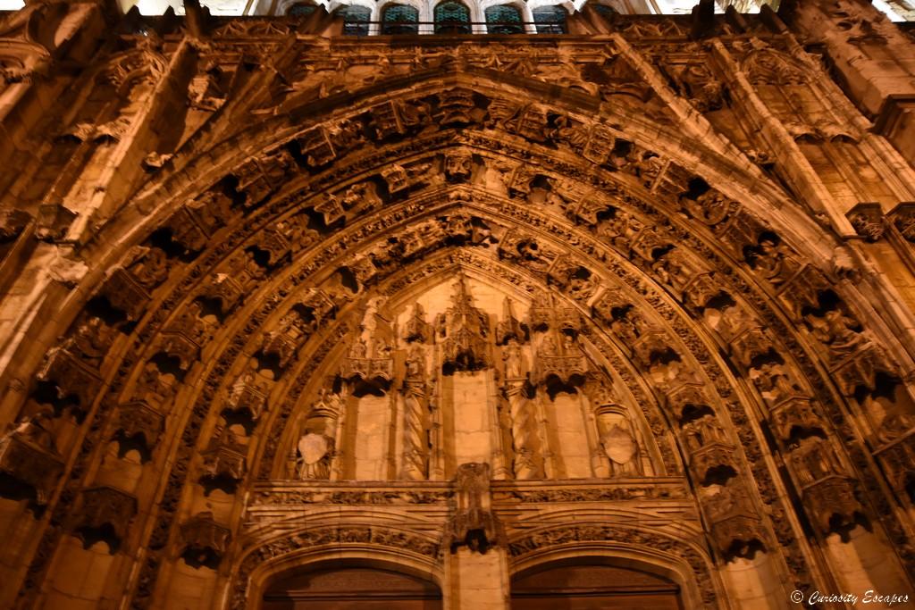 Détails de la cathédrale de Vienne