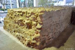 Morceau des anciens remparts de Vienne, Isère