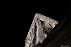 Temple romain à Vienne