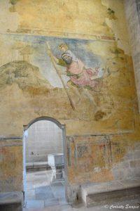Fresques de l'abbaye de Saint Antoine