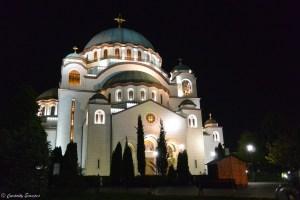 Temple de Saint Sava à Belgrade