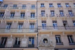 Balcons en fer forgé à Toulouse