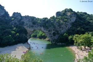 Le célèbre Pont d'Arc d'Ardèche