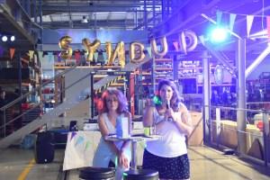 Soirée du blogtrip Synbud