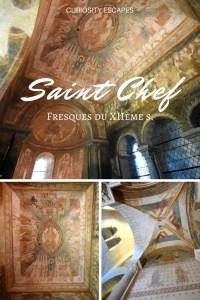 Fresques du XIIème siècle de Saint Chef