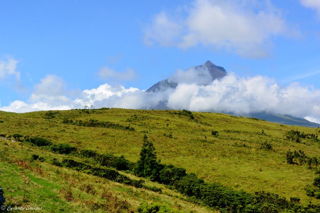 Volcan Pico sur l'île de Pico aux Açores