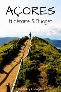 Itinéraire et budget pour un voyage de 17 jours aux Açores
