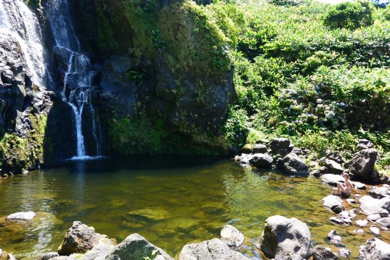 Poço de Bacalhau sur l'île de Flores, Açores