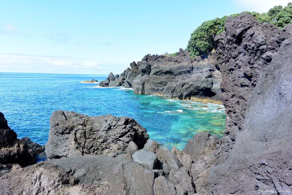 Piscines naturelles aux Açores