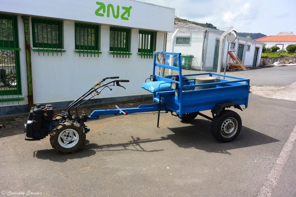 Tracteur de l'île de Flores, Açores