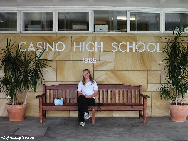 Lycée de Casino High School, Australie