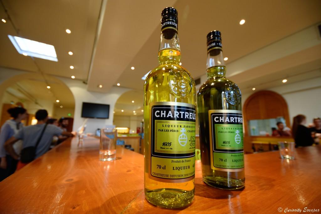 Dégustation de Chartreuse