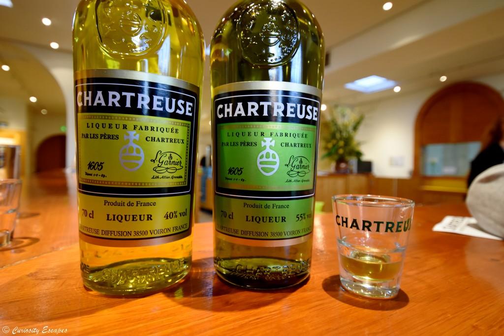 Dégustation de Chartreuse aux caves de Voiron