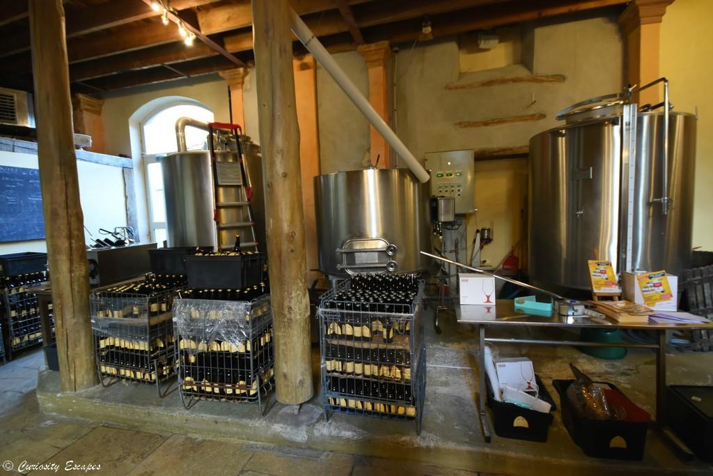 Fabrication de la bière des Ursulines