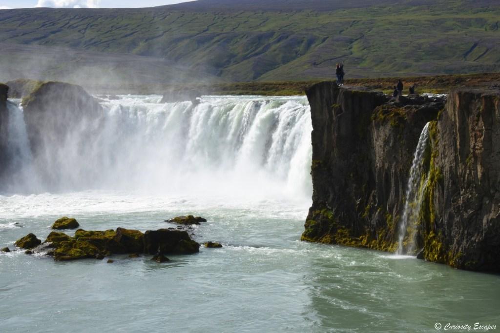 Godafoss, cascade des dieux en Islande
