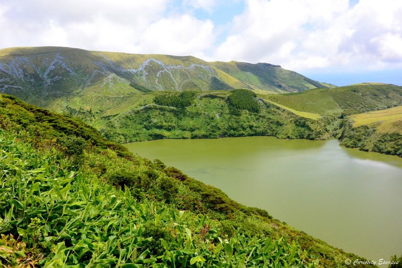 Lagoa Funda sur l'île de Flores