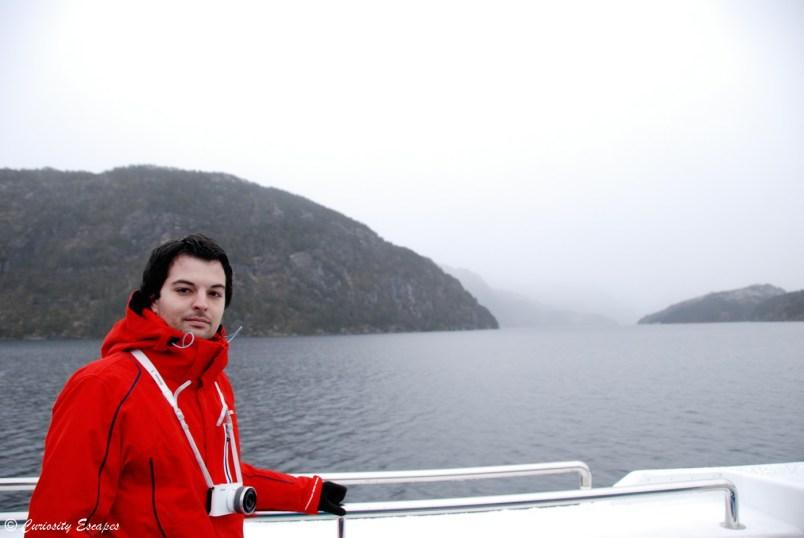 Fjord de Bergen en Norvège