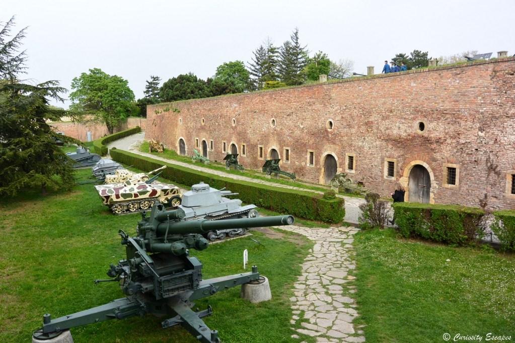 Forteresse Kalamegdan de Belgrade