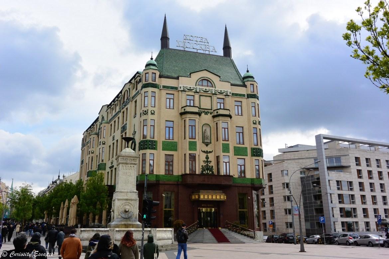 Hôtel Moscou de Belgrade