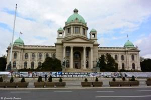 Parlement de Serbie