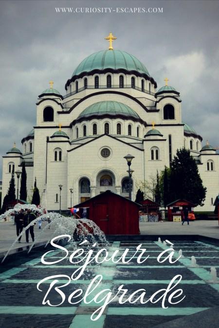 Belgrade, capitale de Serbie