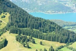 Lac d'Annecy depuis la Tournette
