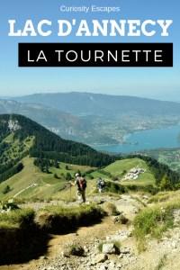 Randonnée de la Tournette au lac d'Annecy