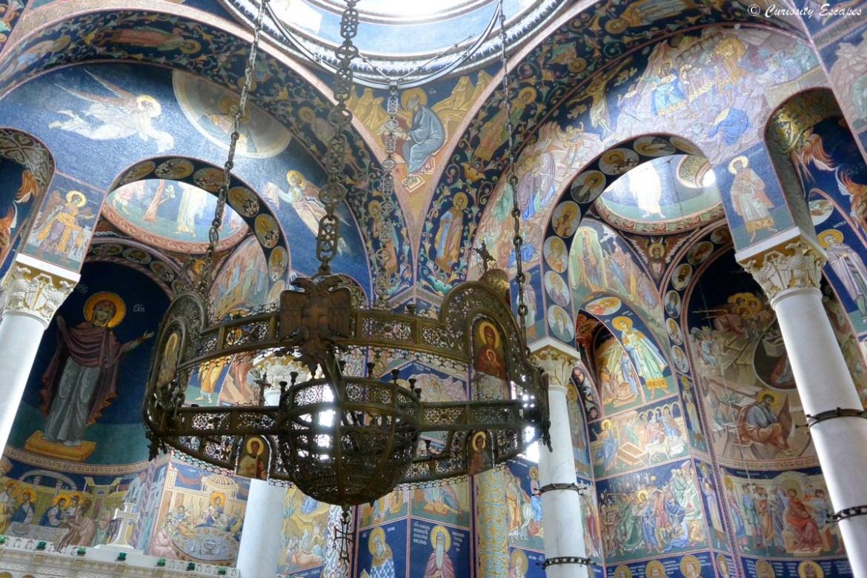 Intérieur de l'église St Georges, Topola